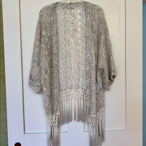 Hollister Kimono Lace Cover Up, Beach & Summer